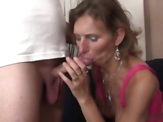 blowjob small fry have sexual intercourse all over his mother in law mature video