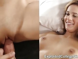 amateur Big Tit Coed Fucked and Facialed college video