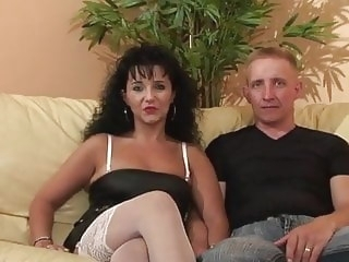 amateur LJ95 Cristal & Fabrice casting fucked and ass fucked milf video
