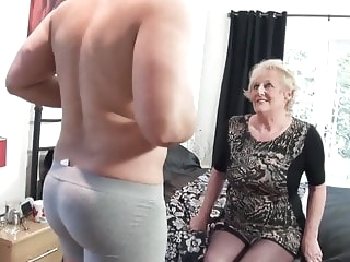 mature British old slut's cunt requires a new big cock every day milf video