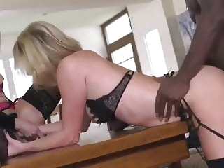 blonde French sluts try BBC top rated video