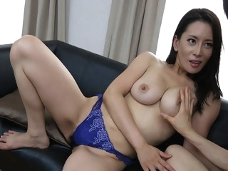big tits Rei Kitajima in Rei Kitajima is fucked so much by her young neighbour - JapanHDV cumshot video