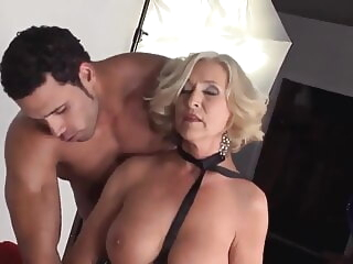 anal Granny inveigling cumshot video