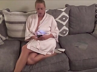 blonde Trying stepson's squirrel away cumshot video