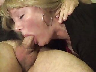pov Granny training deepthroat together with swallows deep throat video