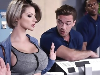 blonde Joslyn James Kyle Mason in Let Me Fuck Your Manager - BrazzersNetwork milf video